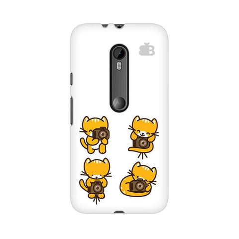 Photographer Kitty Moto X Style Phone Cover