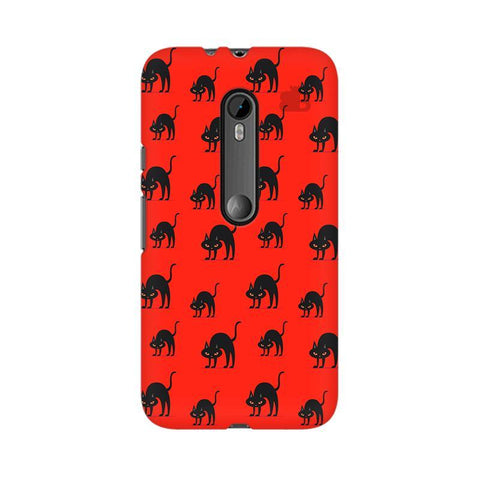 Scary Cats Moto X Style Phone Cover