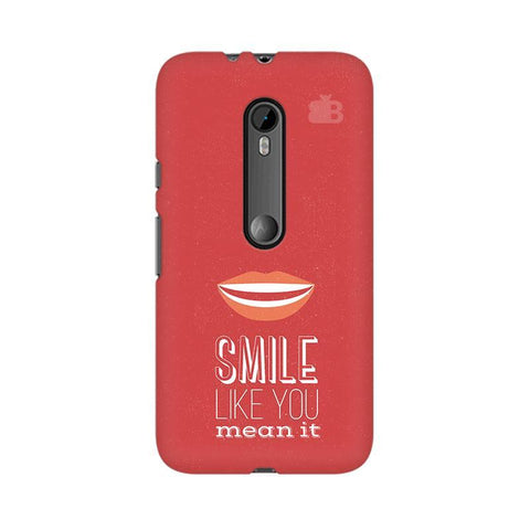 Smile Moto X Style Phone Cover