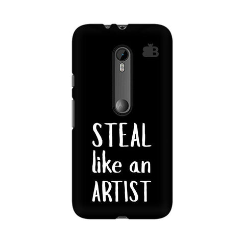 Steal like an Artist Moto X Style Phone Cover