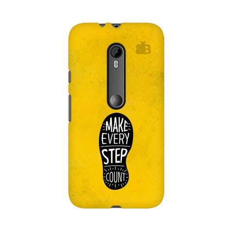 Step Count Moto X Style Phone Cover