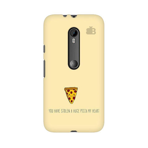 Stolen Huge Pizza Moto X Style Phone Cover