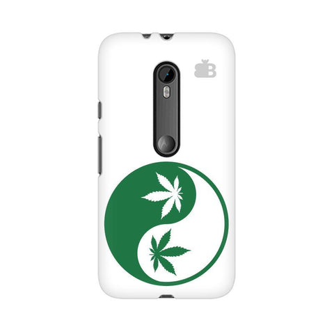 Weed Yin Yang Moto X Style Phone Cover