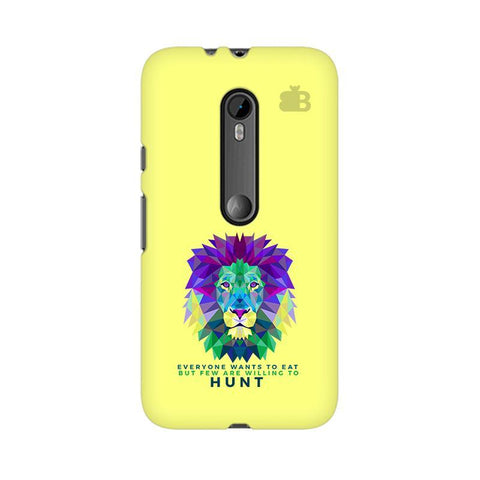 Willing to Hunt Moto X Style Phone Cover