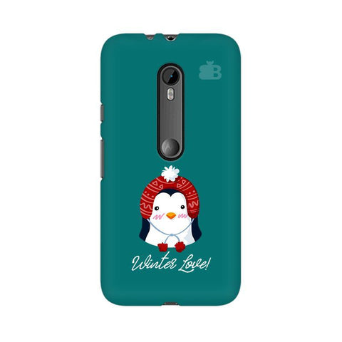 Winter Love Moto X Style Phone Cover