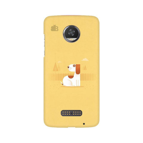 Calm Dog Moto Z2 Play Phone Cover