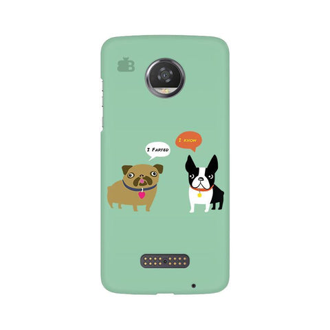 Cute Dog Buddies Moto Z2 Play Phone Cover