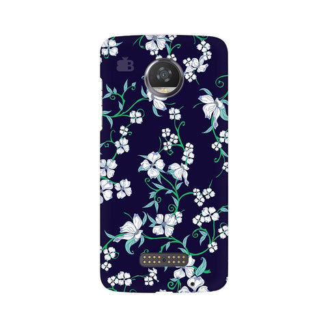 Dogwood Floral Pattern Moto Z2 Play Phone Cover