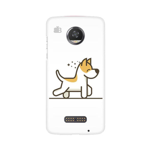 Happy Puppy Moto Z2 Play Phone Cover