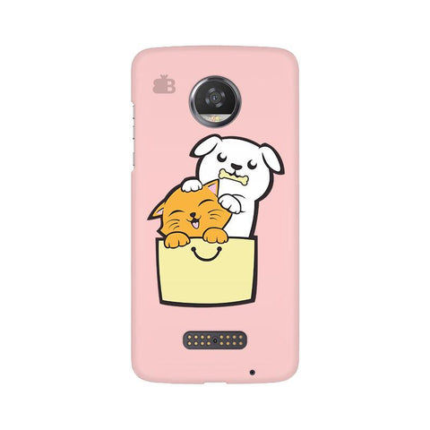 Kitty Puppy Buddies Moto Z2 Play Phone Cover