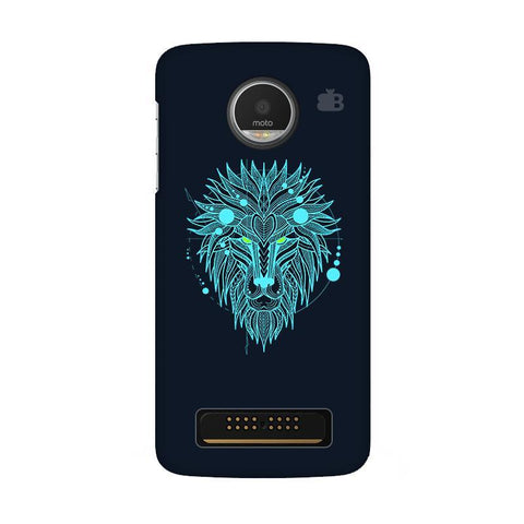 Abstract Art Lion Moto Z Play Phone Cover