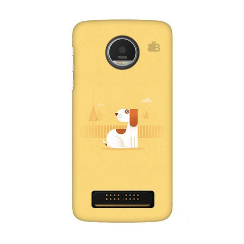 Calm Dog Moto Z Play Phone Cover