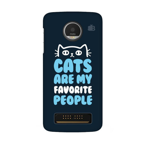 Cats favorite People Moto Z Play Phone Cover
