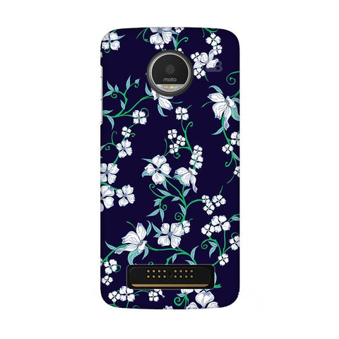 Dogwood Floral Pattern Moto Z Play Phone Cover