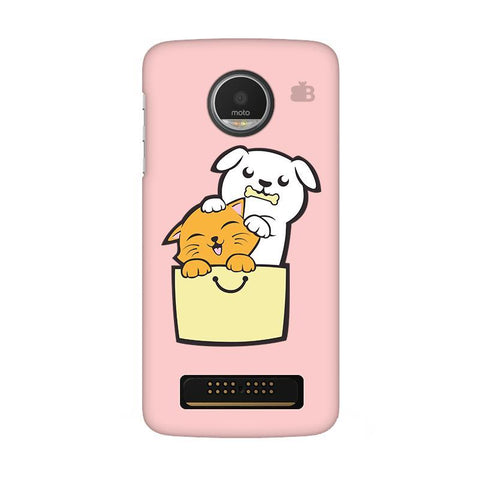 Kitty Puppy Buddies Moto Z Play Phone Cover