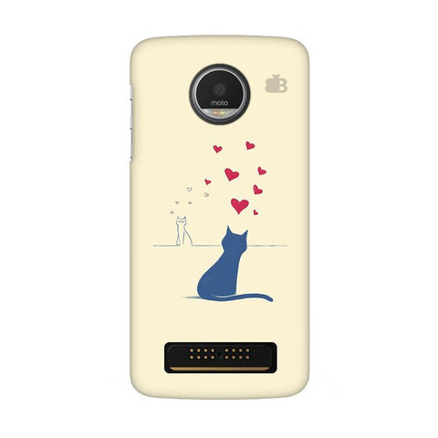 Kitty in Love Moto Z Play Phone Cover