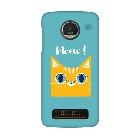 Meow Moto Z Play Phone Cover