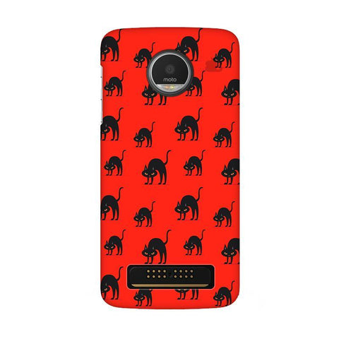 Scary Cats Moto Z Play Phone Cover