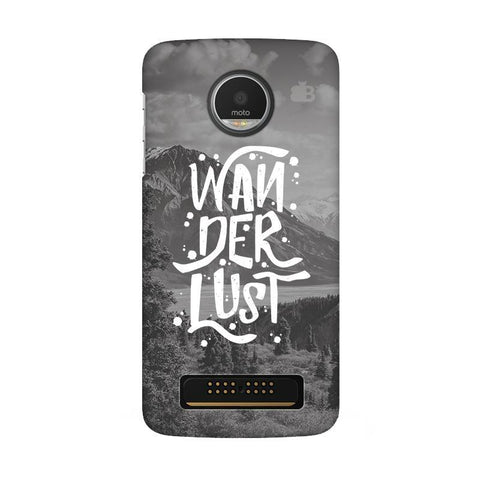 Wanderlust Moto Z Play Phone Cover