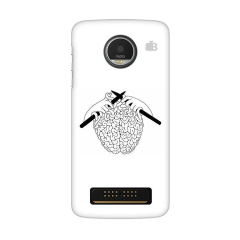 Weaving Brain Moto Z Play Phone Cover