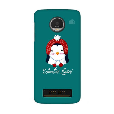 Winter Love Moto Z Play Phone Cover