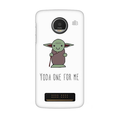 Yoda One Moto Z Play Phone Cover