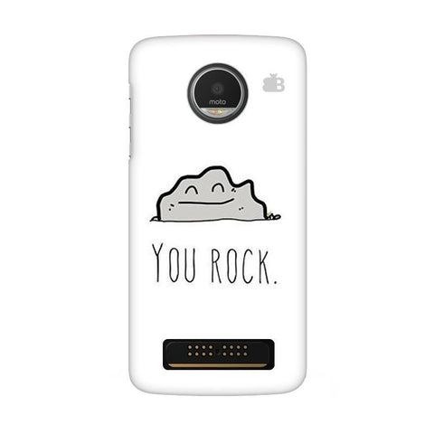 You Rock Moto Z Play Phone Cover