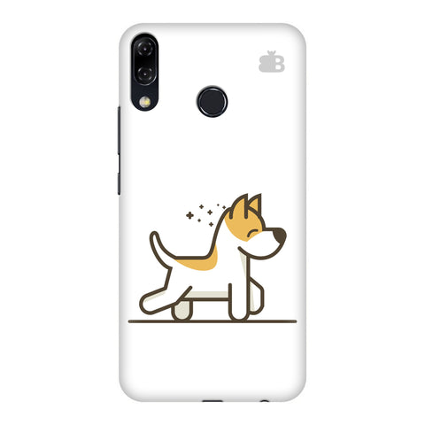 Happy Puppy Motorola Moto 5Z Cover