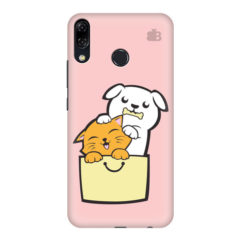 Kitty Puppy Buddies Motorola Moto 5Z Cover