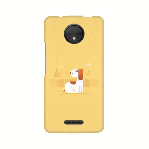Calm Dog Motorola Moto C Plus Phone Cover