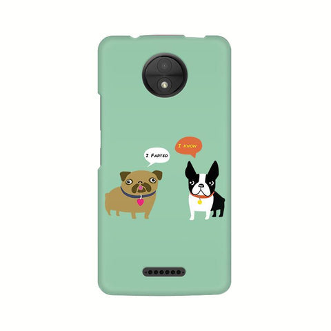 Cute Dog Buddies Motorola Moto C Plus Phone Cover