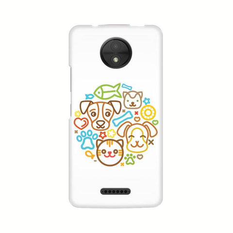 Cute Pets Motorola Moto C Plus Phone Cover