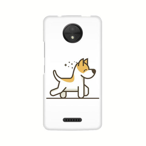 Happy Puppy Motorola Moto C Plus Phone Cover