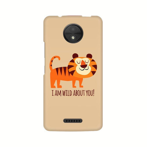 Wild About You Motorola Moto C Plus Phone Cover