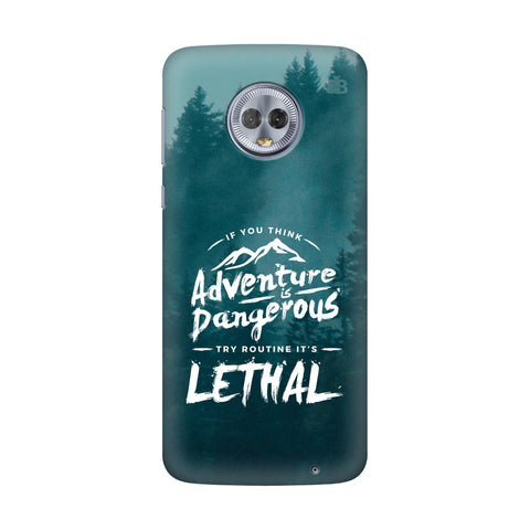Adventure Motorola G6 Plus Cover