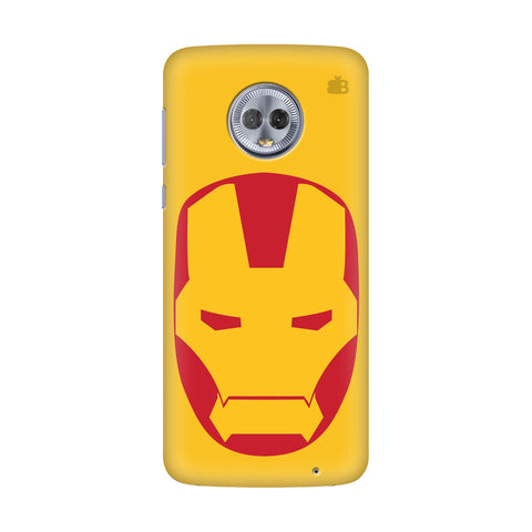 Angry Superhero Mask Motorola G6 Plus Cover