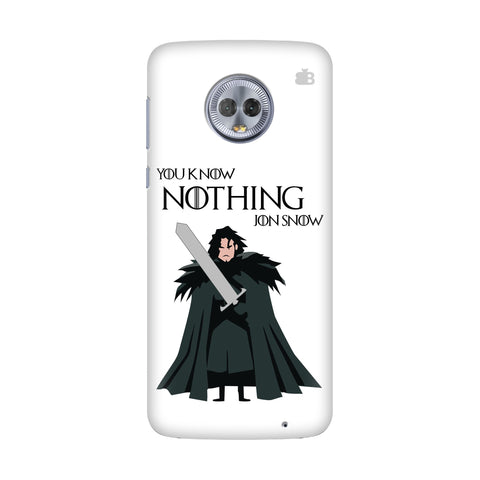 Badass Jon Snow Motorola G6 Plus Cover