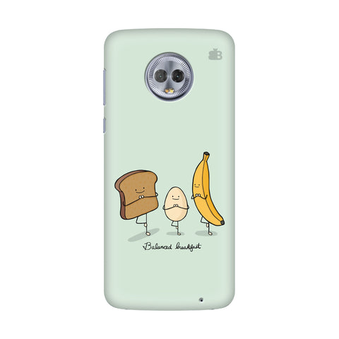 Balanced Breakfast Motorola G6 Plus Cover