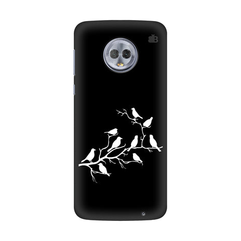 Birds on branches Motorola G6 Plus Cover