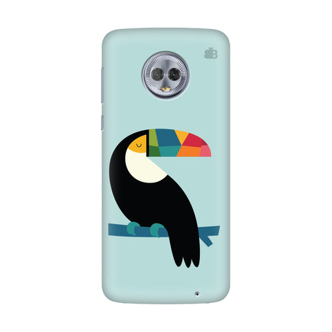 Calm Bird Motorola G6 Plus Cover