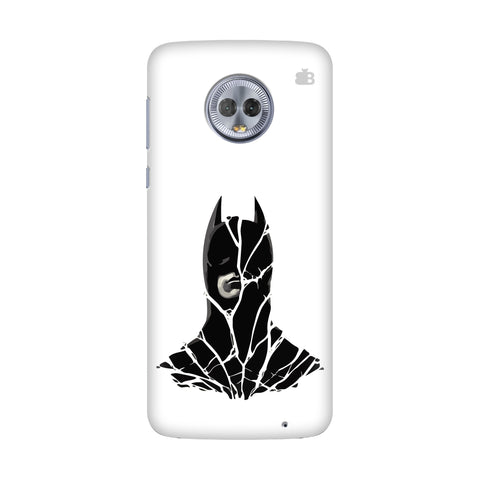 Cracked Superhero Motorola G6 Plus Cover