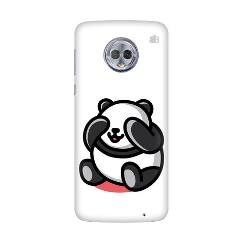 Cute Panda Motorola G6 Plus Cover