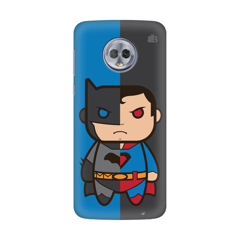Cute Superheroes Annoyed Motorola G6 Plus Cover
