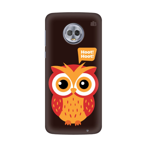 Hoot Hoot Motorola G6 Plus Cover