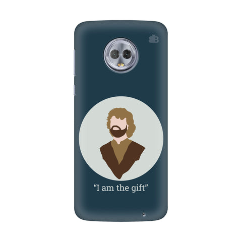 I am the gift Motorola G6 Plus Cover
