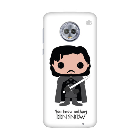 Jon Snow Bobblehead Motorola G6 Plus Cover