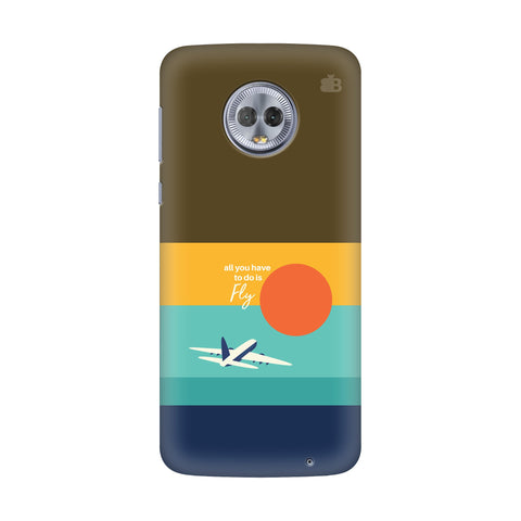 Just Fly Motorola G6 Plus Cover