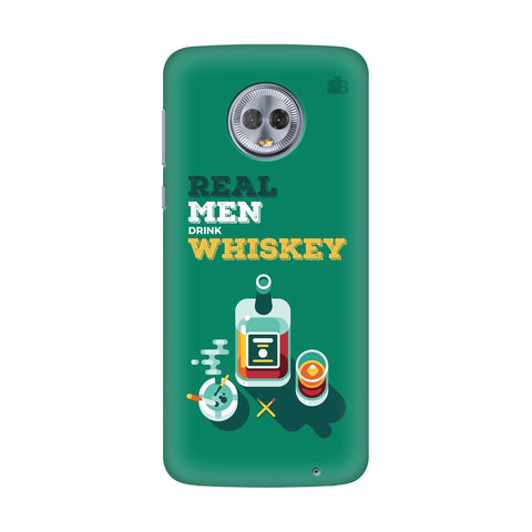 Men and Whiskey Motorola G6 Plus Cover