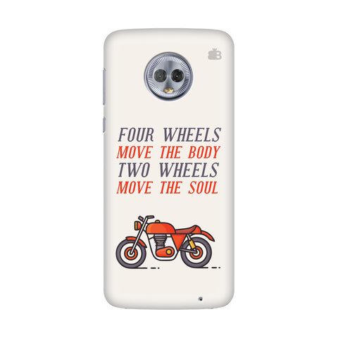 Motorcyclist Motorola G6 Plus Cover