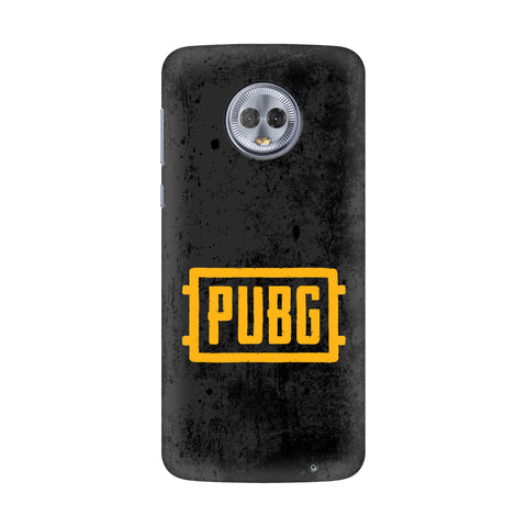 PUBG Motorola G6 Plus Cover